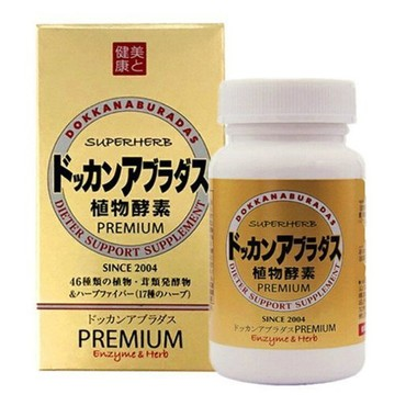 DOKKAN Aburadas Premium Enzyme Gold Bottle 180tablets