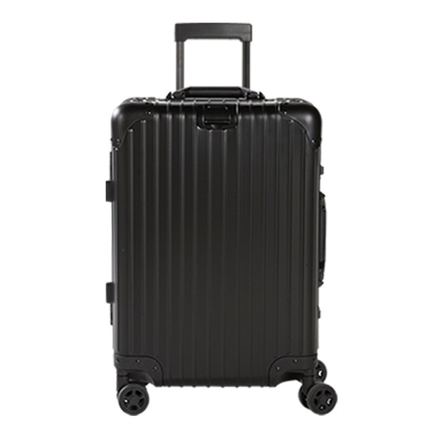 商品详情 - 苏宁极物 全铝镁合金金属万向轮拉杆箱 20寸 黑色 - image  0