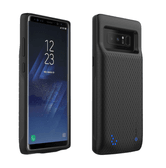 CASESSARY Galaxy Note 8 Battery Case Black 4900mAh Rechargeable Extended Protective Portable Charger External Battery
