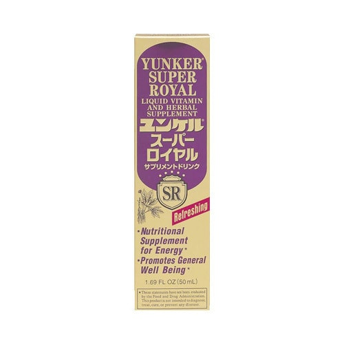 Yamibuy.com:Customer reviews:SATO YUNKER Super Royal Liquid Viramin and Herbal Supplement 50ml