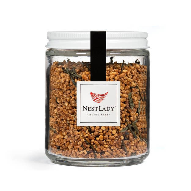 Product Detail - NESTLADY Brown Rice Green Tea 110g  Genmaicha - Japanese Loose Leaf Tea - Organically Grown  Natural and Premium Quality - image 0