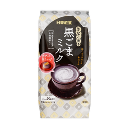 NITTO Mitsui Meicha Kurogoma Milk 8 pc 104g