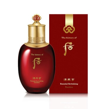 KOREA The History of Whoo Jinyulhyang Essential Revitalizing Emulsion 110ml