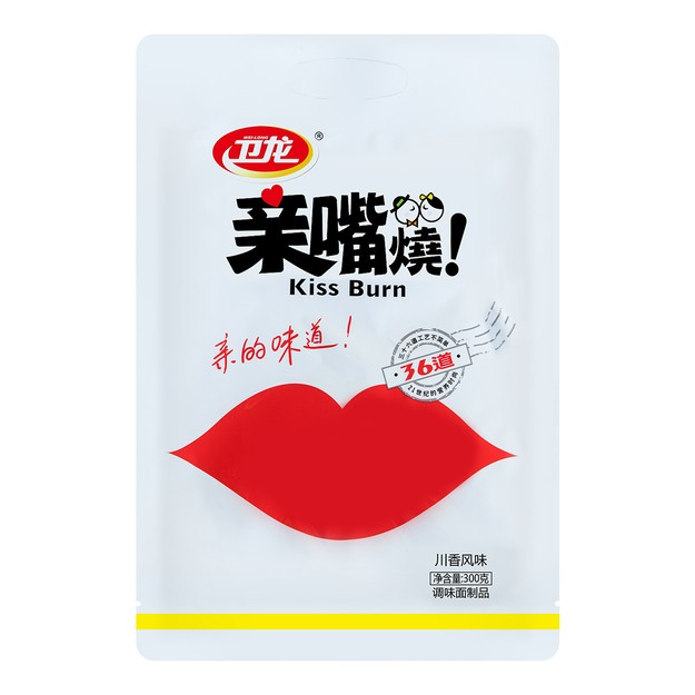 Product Detail - WEILONG Kiss-Burn Spicy Flavored 300g - image 0