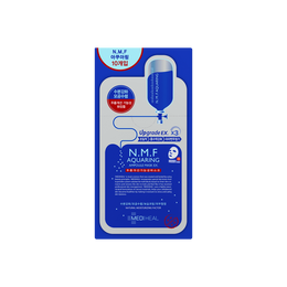 韩国MEDIHEAL美迪惠尔(可莱丝) N.M.F 补水保湿针剂水库面膜贴 EX 10片入