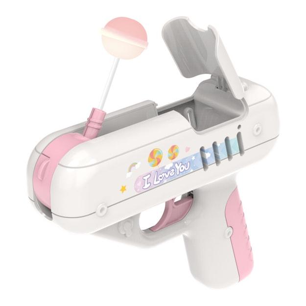 商品详情 - 中国直邮网红糖果枪惊喜棒棒糖枪同款送男朋友创意礼品儿童玩具女朋友礼物 粉色一件 - image  0