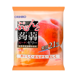 Jelly Peach Flavor 6pcs 120g