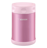 ZOJIRUSHI Stainless Steel Food Jar Pink 500ml SW-EAE50-PS