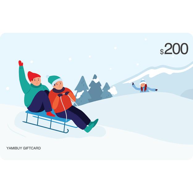 Product Detail - Yamibuy E-giftcard $200 - image 0
