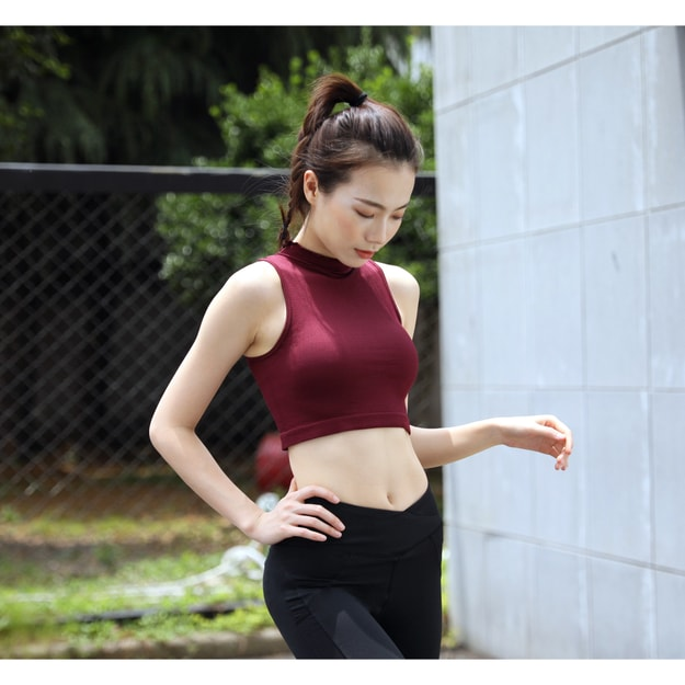 Product Detail - RUNNING STONE Sleeveless Running Shirt #Red Small - image 0