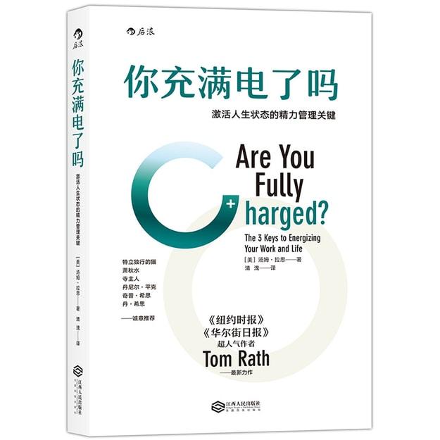 商品详情 - 你充满电了吗:激活人生状态的精力管理关键 - image  0