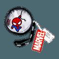 名创优品Miniso 漫威系列 漫威透明圆形零钱包, 黑色, 蜘蛛侠