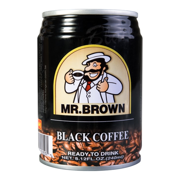 Product Detail - MR BROWN Black Coffee 240ml - image 0