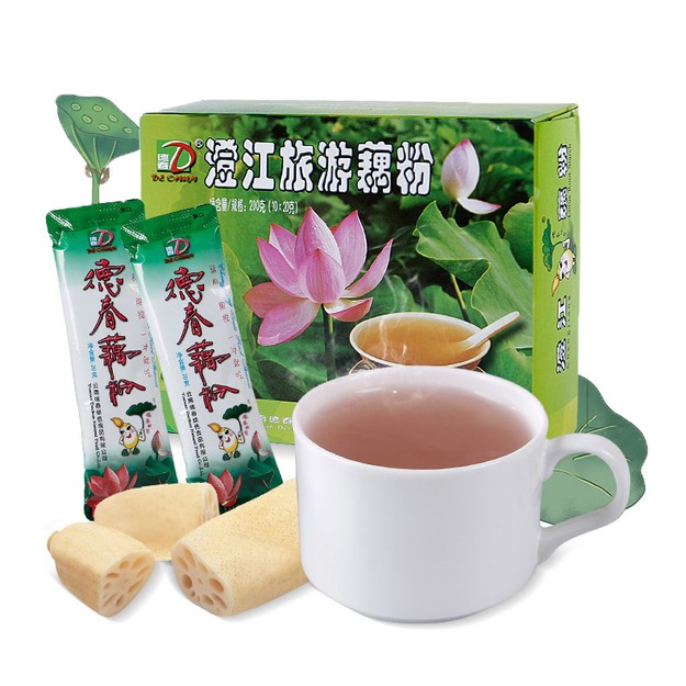 Product Detail - DECHUN Lotus Root Powder 200g - image 0
