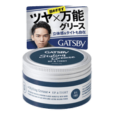 MANDOM GATSBY Styling Grease Up & Tight Hair Wax 100g