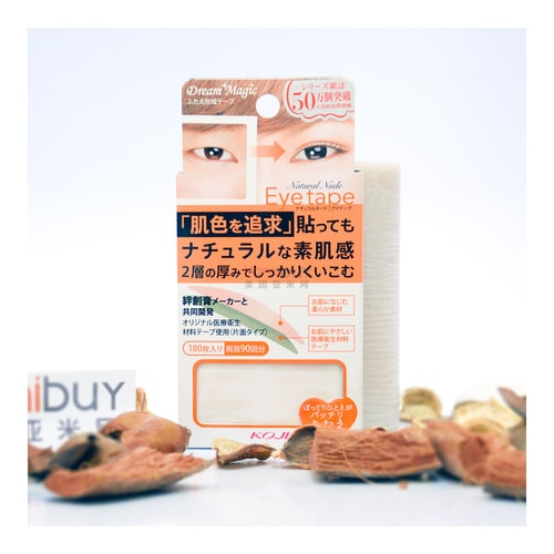 KOJI DREAM MAGIC Natural Nude Eye Tape Transparent 180 Pieces