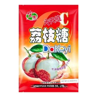 宏源 荔枝糖 350g