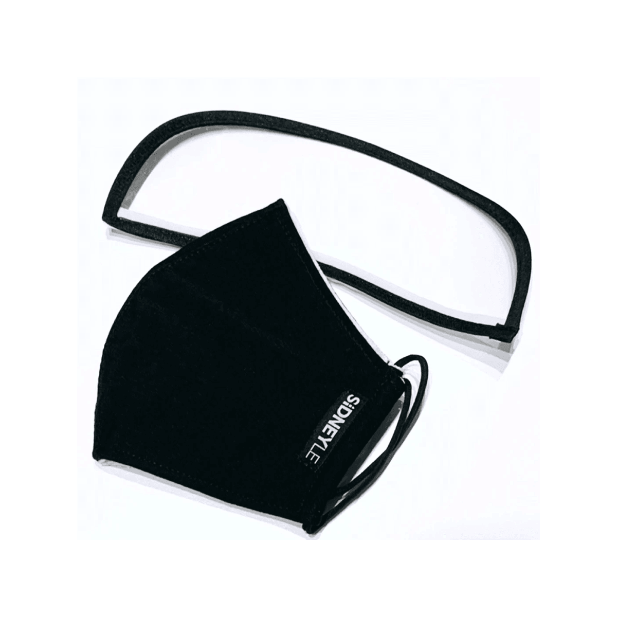 Yamibuy.com:Customer reviews:SiDNEYLE Reusable Cloth Face Mask with Removable Eye Shield #Black 1 Pack