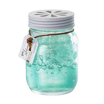 日本CARMATE快美特 海岸风果冻精致玻璃瓶香水空气清新剂 #海滨之风 130ml