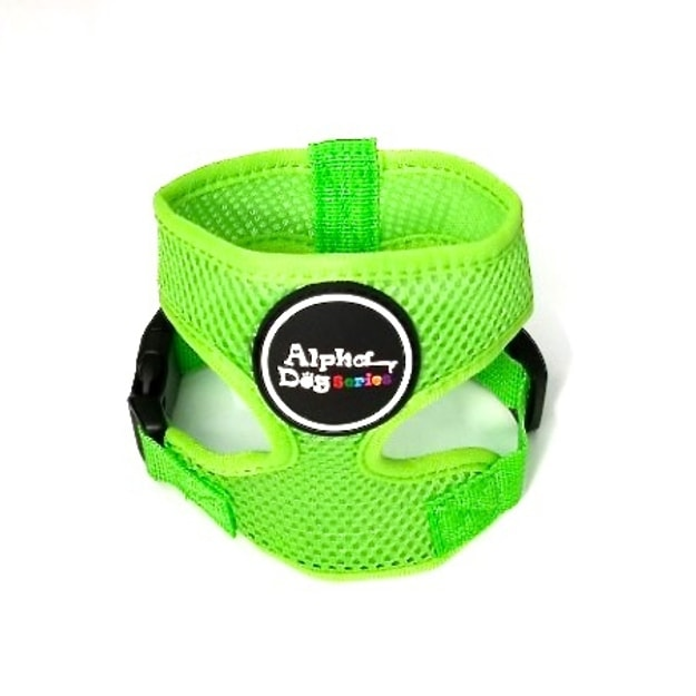 Product Detail - ALPHA DOG SERIES Pet Safety Harness #Green  XL - image 0