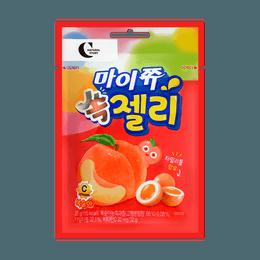 韩国CROWN 软软夹心软糖 白桃味 32g