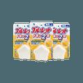 【超值3包装】【除菌免刷】日本KOBAYASHI小林制药 马桶水箱清洁除菌芳香剂 星星造型 无色 葡萄柚香 120g