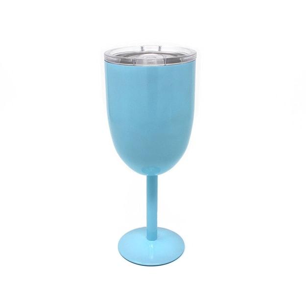商品详情 - CONCORD Wine To-Go双层抽真空红酒保温杯 12oz-天空蓝 - image  0