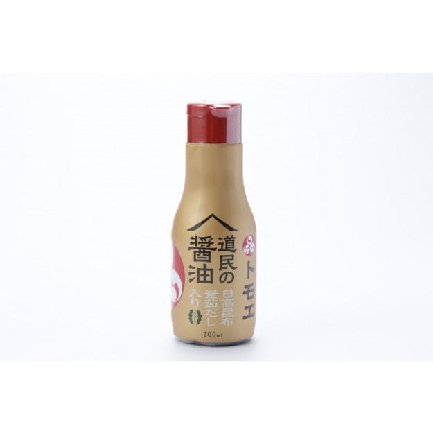 商品详情 - 【日本直邮】FUKUYAMA福山 道民的酱油 日高海带昆布酱油 低盐酱油 200ml - image  0