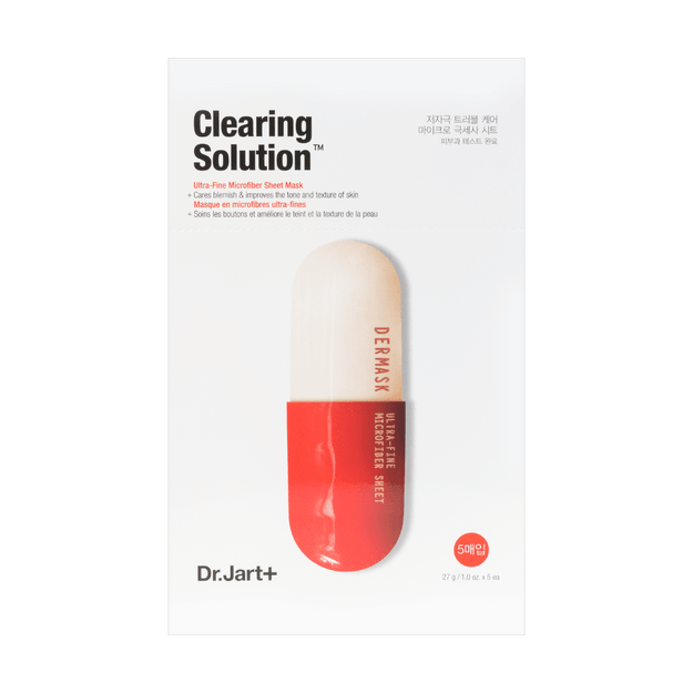 Product Detail - DR.JART+ Mermask Micro Jet Clearing Solution Mask 5sheets - image 0