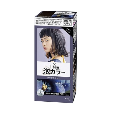 KAO LIESE PRETTIA Bubble Hair Dye #Dark Navy