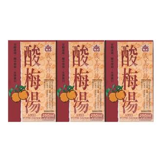 台湾IMEI义美 酸梅汤 6盒装*250ml
