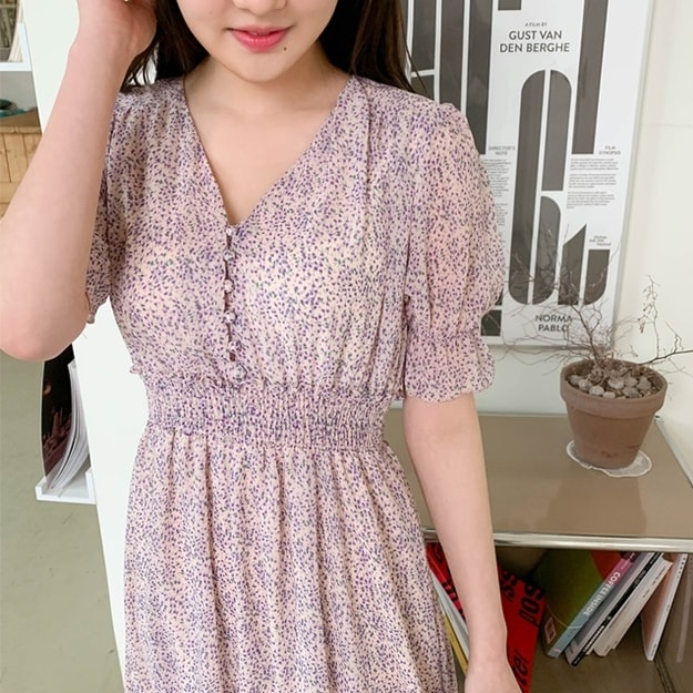 CHERRYKOKO dress purple free