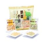 [日本直邮] 日本NISHIMURA 西村 菠菜南瓜混合蔬菜口味小馒头 6x20g