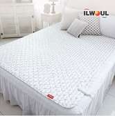 GANGNAM SHOP Ilwoul Micro Fiber Washable Electric Heating Mat 110V [Queen: 79in X 59in]
