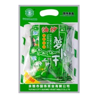 国伟食品 油炒萝卜干 (10包装) 160g
