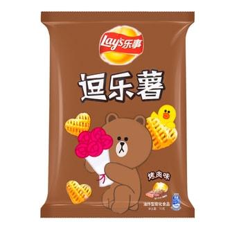 百事LAY'S乐事 逗乐薯 烤肉味 70g