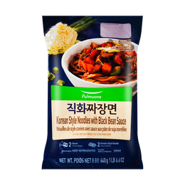PMO Korean Style Noodles with Black Bean Sauce 640g