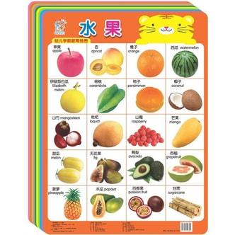 海润阳光·幼儿学前教育挂图大全(全套共17张)