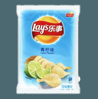 百事LAY'S乐事 马铃薯片 青柠味 袋装 70g