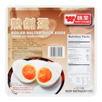 味全 熟咸蛋 6枚入 330g