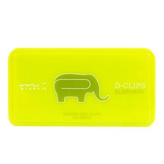 MIDORI Cartoon Elephant Paperclips 30pc