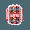 名创优品Miniso 漫威卡通系列双扣便当盒360ml(混图案)