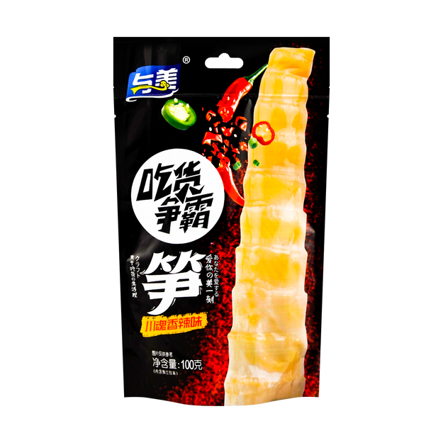 Product Detail - YUMEI Bamboo Shoots Spicy Flavor 100g - image 0