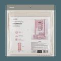 名创优品Miniso 细条纹系列-四格挂袋(粉色)