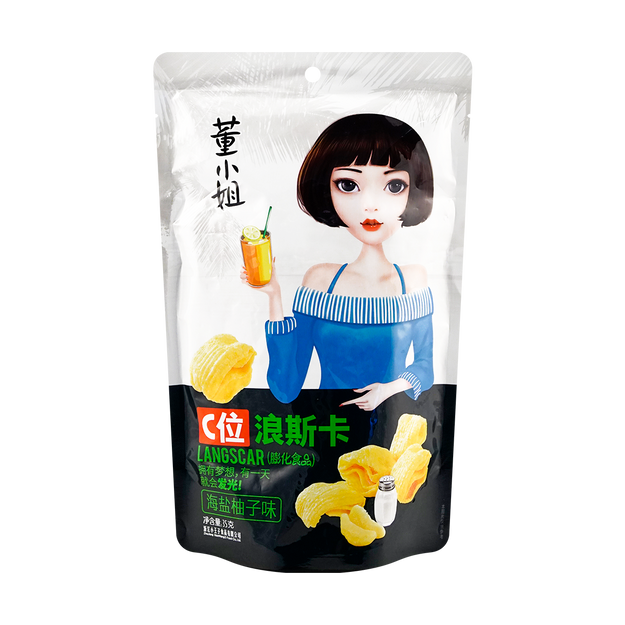 Product Detail - 【Clearance】DONGXIAOJIE Corn Chips Sea Salt Flavor 35g - image 0