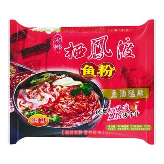 QIFENGDU Fish Instant Noodle Super Hot Flavor 122g