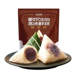 [中国直邮] ZHENZHENLAOLAO 真真老老红袍豆沙粽子嘉兴特产100g*2只
