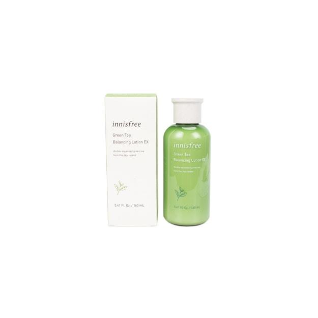 Product Detail - INNISFREE new green tea balance water Oil Moisturizing & Moisturizing & softening lotion 160ml - image 0