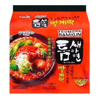 韩国PALDO八道 极地麻辣汤面 5包入