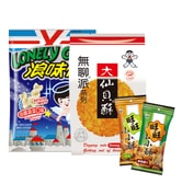 WANT WANT Rice crackers lonely god 952g
